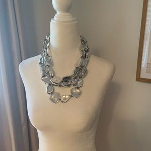 Chico's chunky silver necklace